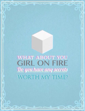 Games Quotes Finnick Hunger games quote / catching fire / finnick ...