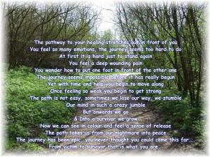 survivor poem & photo