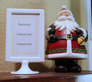 Displaying 20> Images For - Bad Santa Quotes Wish In One Hand...