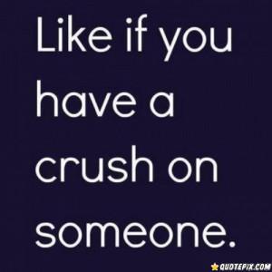 Having A Crush!