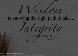 Quotes About Integrity...