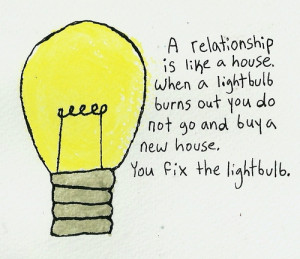 ... love quote watercolour fix relationship quote lightbulb best quote