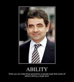 mr bean ability