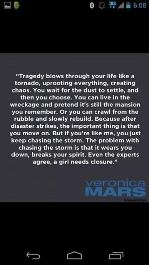 Veronica mars quote