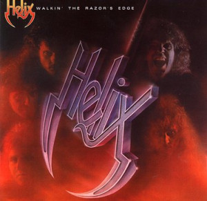 Musica Caratula de Helix Walking The Razors Edge