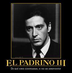 Frase celebre del Al Pacino en la pelicula El Padrino III More