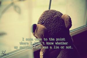 Sad Teddy Bear Window Wating,sadly,teddy,bear,love