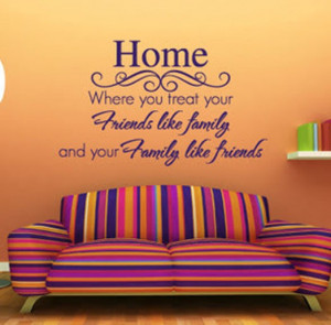 New Home Quotes Vinyl wall decals quote
