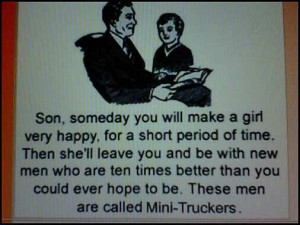 Funny Semi Truck Quotes Truck es a tailgate home