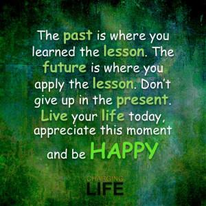 Past Lessons.....