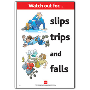 Funny Safety Posters Slips Trips And Falls