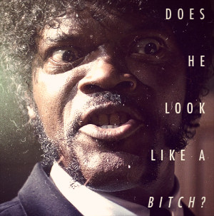 Samuel L Jackson Pulp Fiction Quote Picture