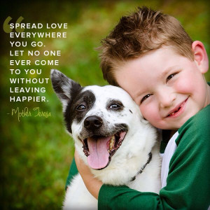 Mother Teresa quote. Happiness