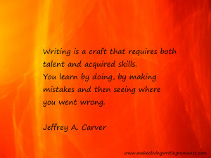 Motivational Writing Quotes