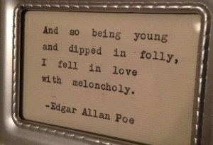 Edgar Allan Poe Quotes 13, A picture with an Edgar Allan Poe quote ...