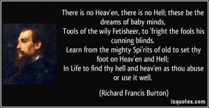 More Richard Francis Burton Quotes