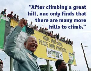 Nelson Mandela on Overcoming Poverty