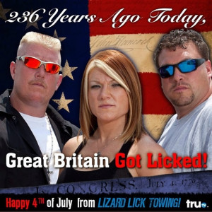 Lizard Lick Towin, happy late 4th y'all!