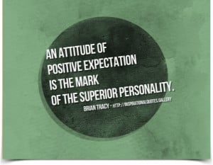 ... is the mark of the superior personality. Quote by Brian Tracy