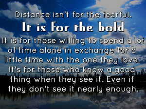 Quotes About Love And Distance: Long Distance Relationship Quotes ...