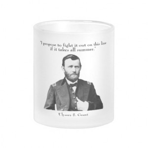 Ulysses S. Grant quotes on church and state. Mug
