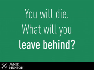 Live With What You This Leave