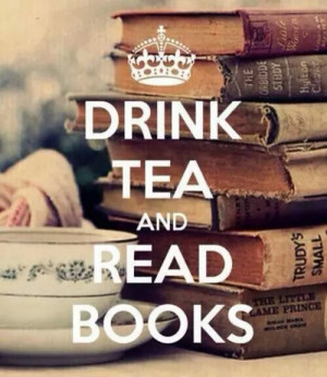 books, library, quotes, reading, sayings, tea, winter, words
