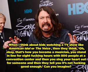 Dave Grohl Inspiring Quotes