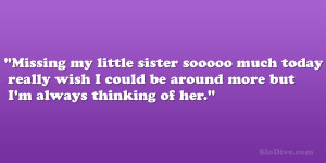 Missing my little sister sooooo much today really wish I could be ...
