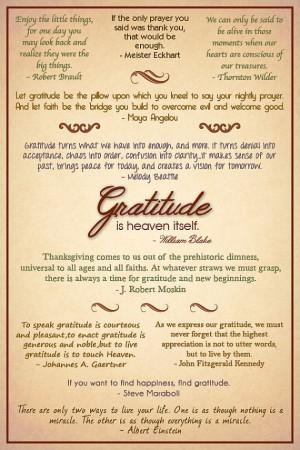Gratitude Quotes Poster - CustomizableGratitude Attitude, Gratitude ...