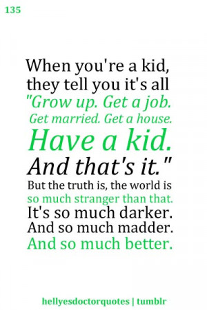 doctor who love quotes