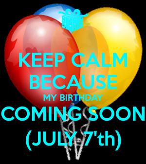 Keep Calm Its Son Birthday