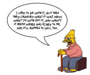 Sunday Comics - Grandpa Simpson Quotes