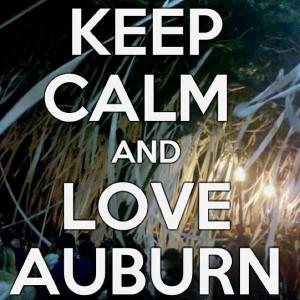 Love my Auburn Tigers!
