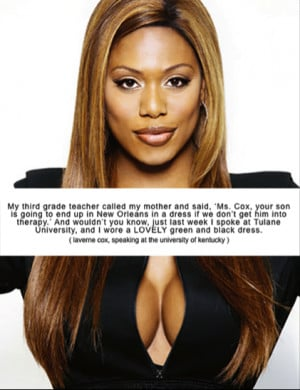 Laverne Cox is simply amazing!
