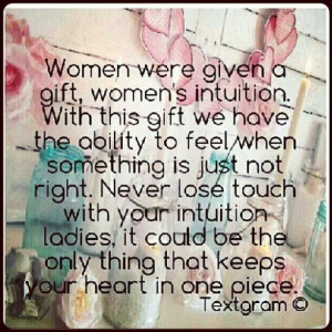 Woman's Intuition