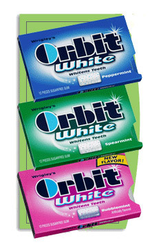 -packs of Orbit gum on sale for $1 this week. Use the $1/1 Orbit gum ...