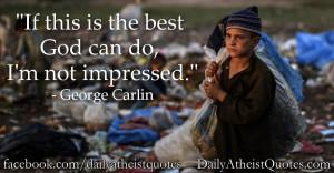 George Carlin – I'm not impressed