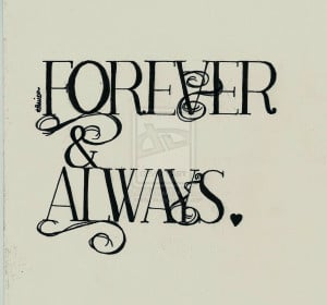 ... calligraphy 2011 2015 xxally7xx forever and always i love you add a