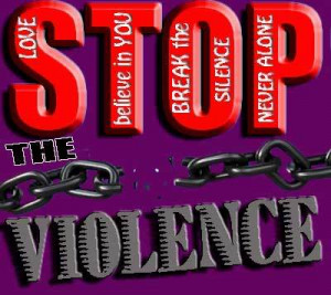 stop the violence poems