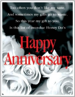 ... like my taste and sometimes my gifts go to waste anniversary quote