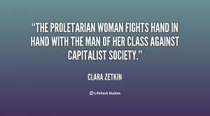 These interests of the workers, as the exploited and oppressed, class ...