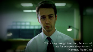 Fight Club Quotes Narrator