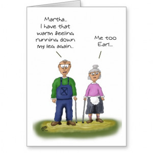 Funny Anniversary Cards: Sharing the bathroom Greeting Card