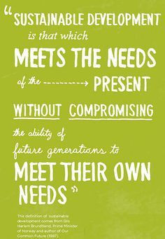 sustainability quotes - Google Search