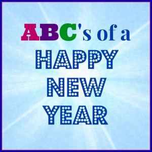 Inspiring ABC's of a Happy New Year | Simply Southern Baking