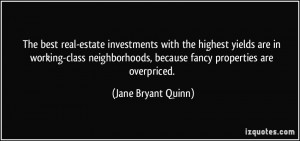 The best real-estate investments with the highest yields are in ...