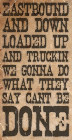 Smokey And The Bandit Quotes Theme from smokey and the