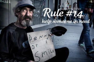 happiness quotes: help someone in need.