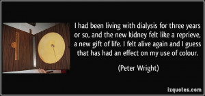 Dialysis Quotes